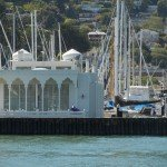 The Taj floating home in Sausalito
