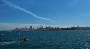 Jet show at Fleet Week