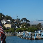 Leaving Sausalito ferry dock