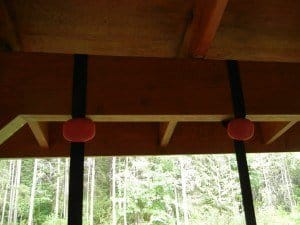 Jungle Gym XT affixed to beam