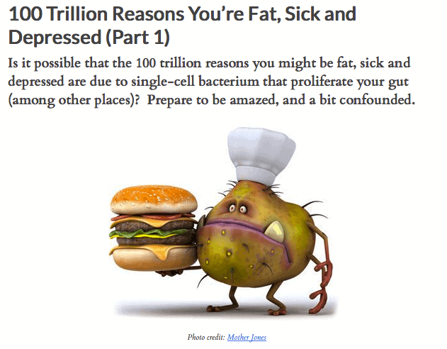 100 Trillion Reasons You're Fat, Sick and Depressed (Part 1)