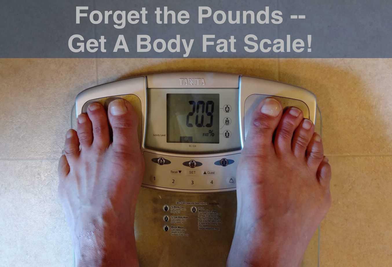 get a body fat scale